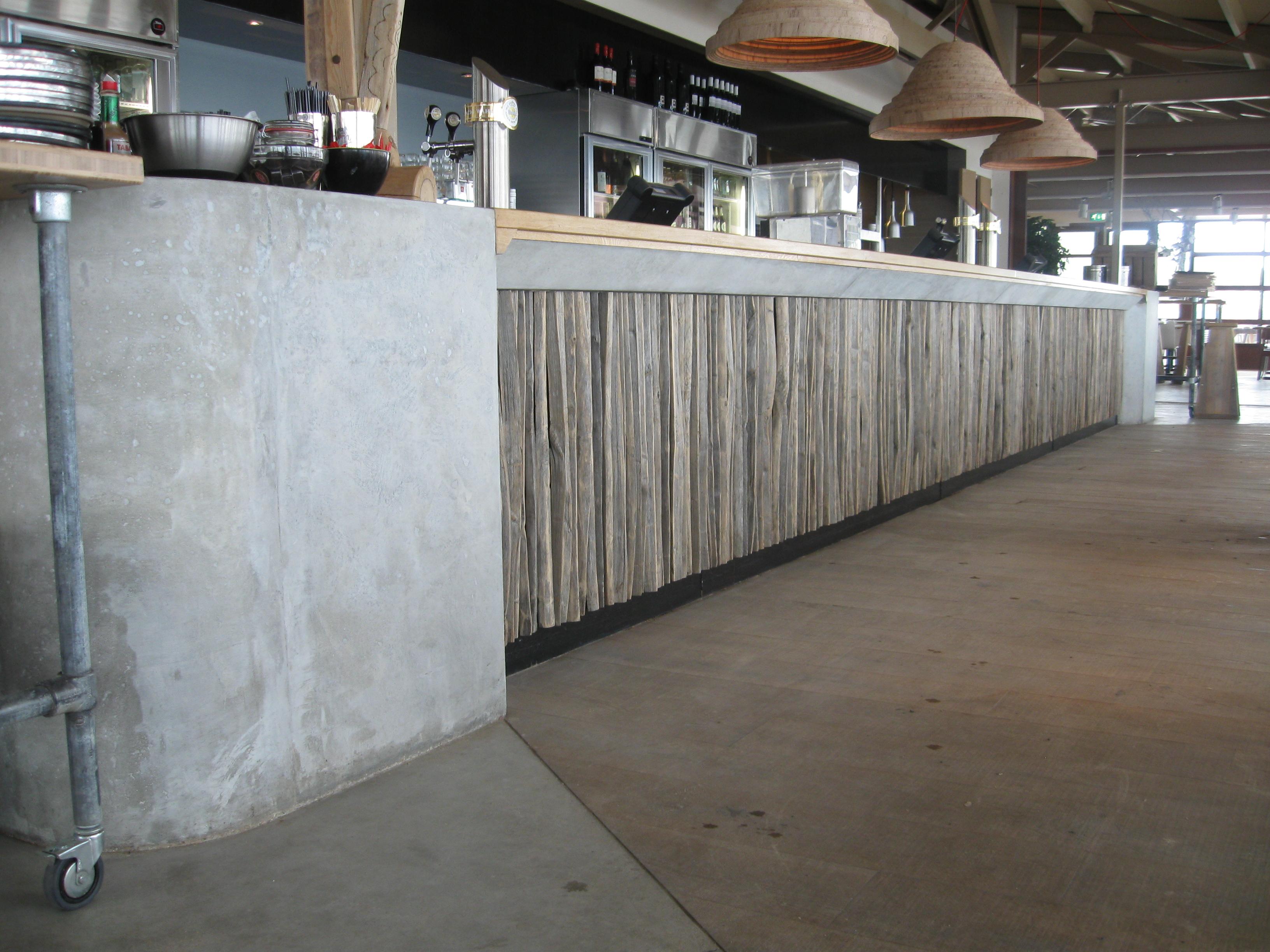 Maarten zwartjes terrazzo concrete - Betonlook wand ...
