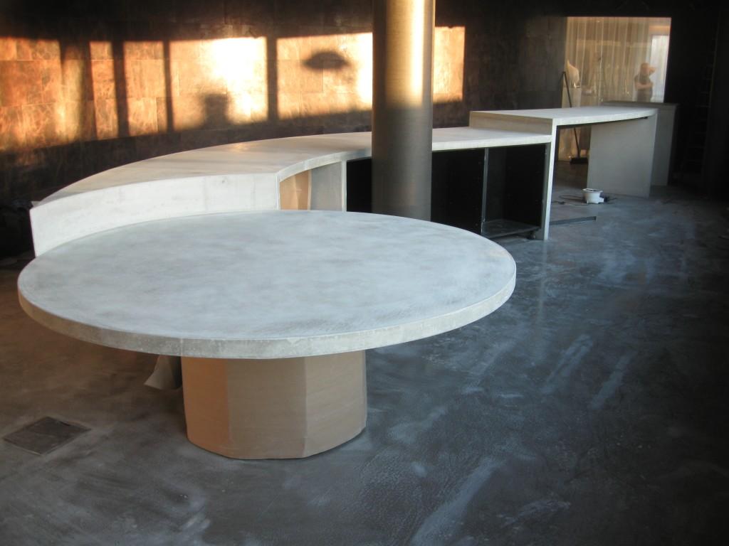 Beton Tafel Maken : Maarten zwartjes maarten zwartjes maakt terrazzo beton
